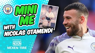My family is football mad | Otamendi as a child | Mini Me