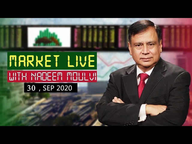 Market Live' With Renowned Market Expert Nadeem Moulvi | 30 Sep 2020