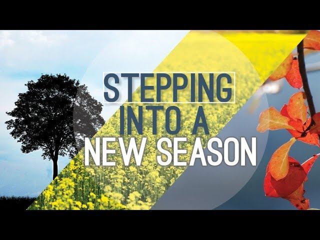 Stepping Into a New Season - Pastor Chris Sowards - 12/29/19 PM