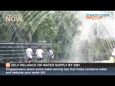 Self-reliance on water supply by 2061 (World Water Day Pt 1)