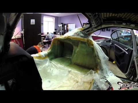 Шумоизоляция и автозвук для Skoda Octavia