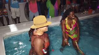 Spring Break 2019 Twerk Pool party part 1 - Fame Weedend South Beach S1 E1 Miami carnival 2019