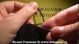 Шапка Классика(Подробный видеокурс вязания смотрите на сайте http://www.lulanova.ru Detailed video course knitting, please visit http://www.lulanova.ru Detaillierte..., 2013-07-08T04:18:44.000Z)