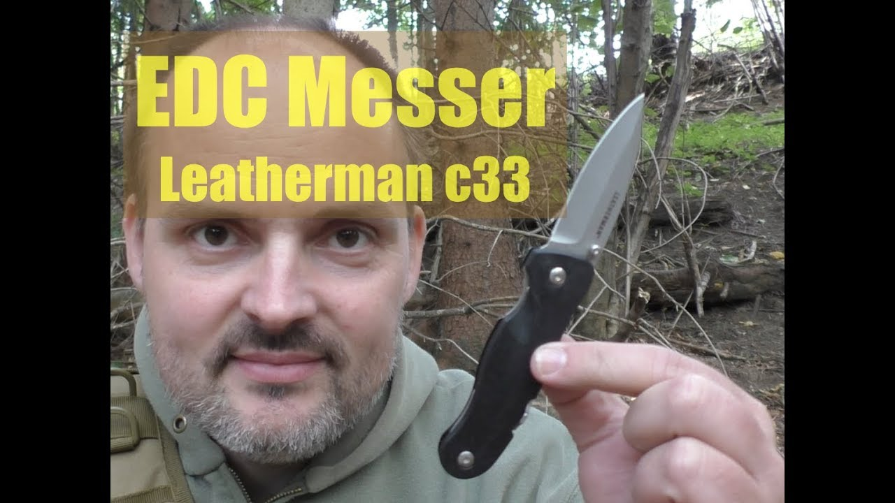 Messer Leatherman Crater c33