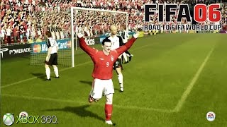 FIFA 06: Road to FIFA World Cup - Gameplay Xbox 360 (Release Date 2005)