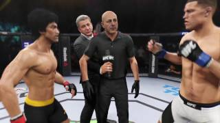 UFC Dream Match - Bruce Lee VS Nate Diaz