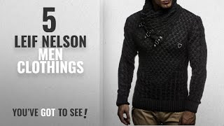 Top 10 Leif Nelson Men Clothings [ Winter 2018 ]: Leif Nelson LN5255 Men