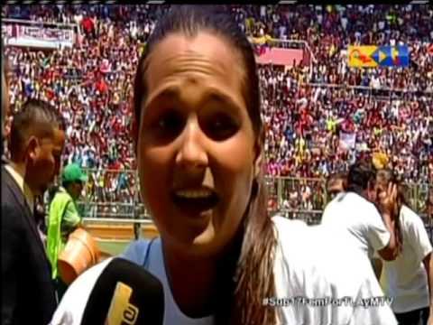 VENEZUELA CAMPEONA DE SUDAMERICANO FEMENINO SUB17 20/03/16
