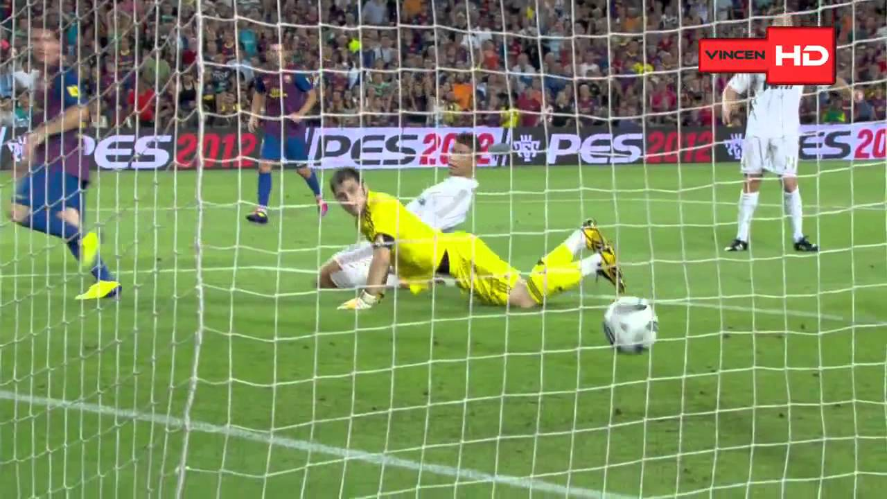 Download Barcelona 3 - 2 Real Madrid SuperCopa España 17.08-11 HD
