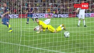 Barcelona 3 - 2 Real Madrid SuperCopa España 17.08-11 HD