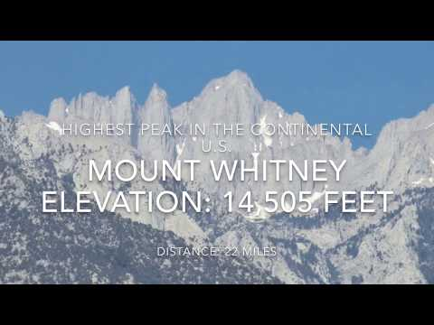 Mount Whitney Day Hike July 2017