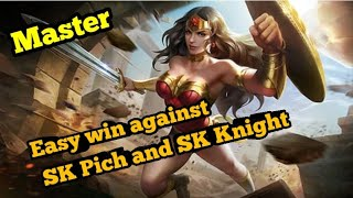 Sk Pich and Sk Knight   Wonderwomen Gameplay   Arena of Valor