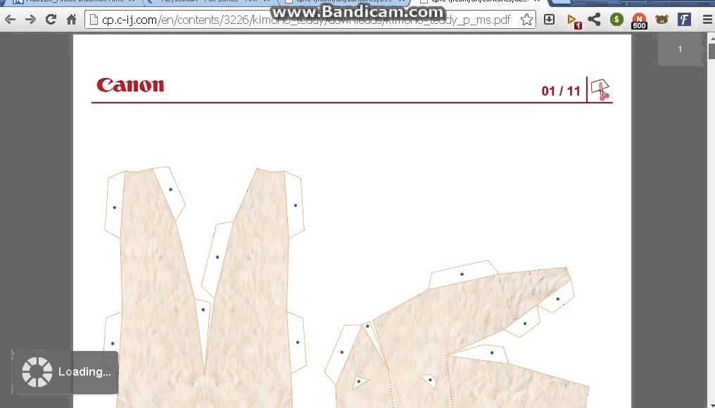Cara Mendownload Paper Craft Dan Kartu Di Canon Creative Park Youtube