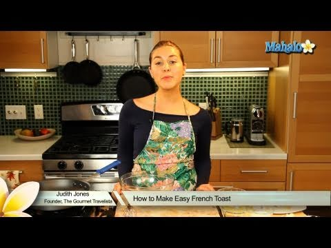 how to make easy french toast youtube