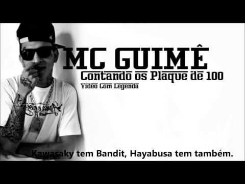 video mc guime contando os plaque de 100
