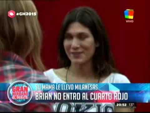 Gran Hermano 2015: La enorme sensibilidad de Valeria cuando se encontró con la mamá de Brian