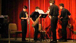 Quartet For Saxophones Mvt. 2 & 1 - Del Borgo