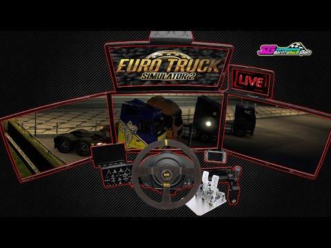 Euro Truck Simulator 2 Multiplayer / De ruta con amigos