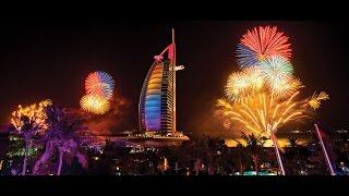 Dubai  Burj khalifa New Year's Eve 2017 -  أقوى احتفالات رأس السنة دبي برج خليفة 2017