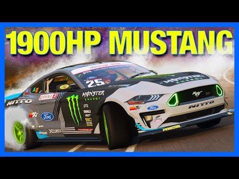 Forza Horizon 4 : 1900 HORSEPOWER RTR MUSTANG BUILD!! thumbnail