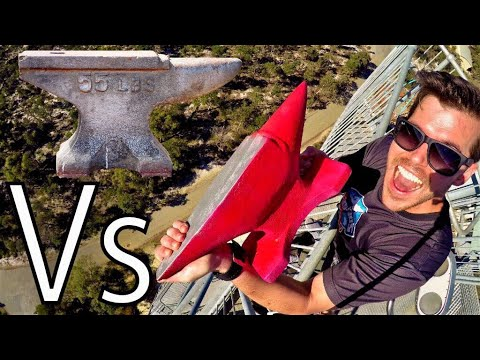 Thumbnail: ANVIL Vs. ANVIL 45m Drop Test!!