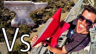 ANVIL Vs. ANVIL 45m Drop Test!! thumbnail