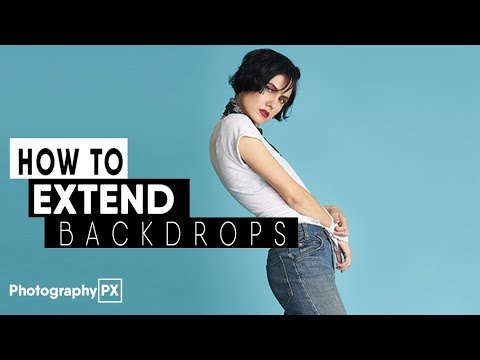 Extend Backgrounds In Photoshop - With Only One Tool