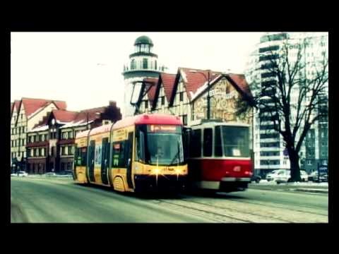 """Трамвай """"ПЕСА"""" в Калининграде."""