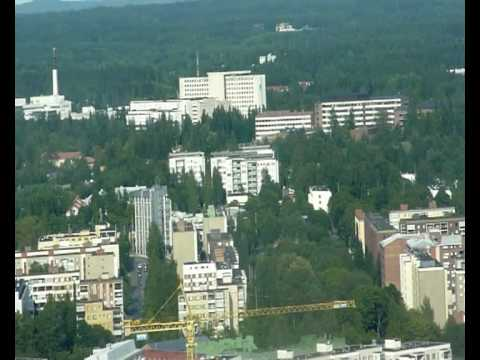 Overview of Tampere/Finland