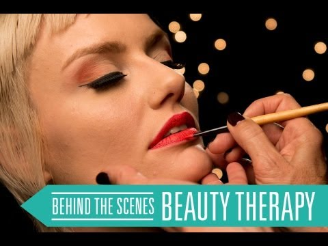 BE INSPIRED: SYDNEY TAFE Behind the Scenes Video Shoot: Beauty Therapy