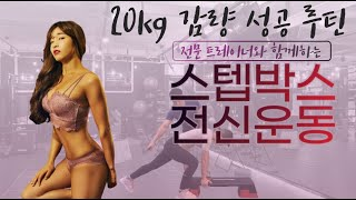 [20kg 감량 Secret PT] 30분 전신 스텝박…