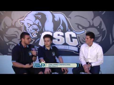 'HIGH SCHOOL GAME DAY' CHARTER VS CALVARY PRE GAME SHOW - HIGH SCHOOL SPORTS