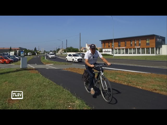 Luçon : création de nouvelles pistes cyclables
