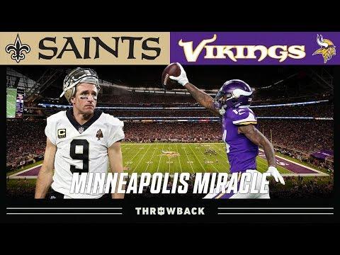 """The Minneapolis Miracle"" (Saints vs. Vikings 2017 NFC Divisional)"