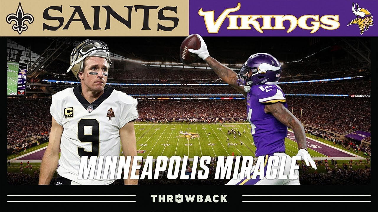 Three Reasons to Believe in the Vikings Against the Saints