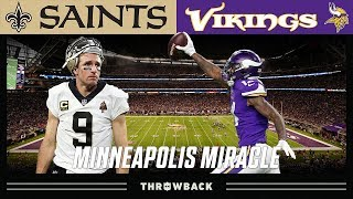 """The Minneapolis Miracle"" (Saints vs. Vikings 2017 NFC Divisional)"