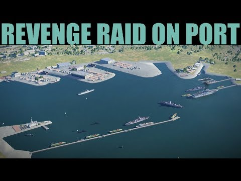 Brunei Campaign: Revenge Raid On Hostile Port | Arma 3