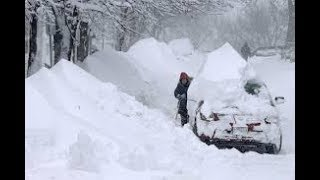 """RECORD BREAKING BLIZZARD - Grand Solar Minimum Update - 8 foot drifts of """"global warming"""" reported"""