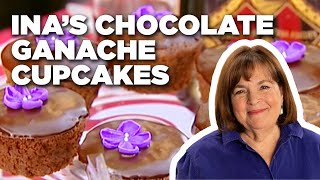 Ina Garten's Chocolate Ganache Cupcakes | Food Network