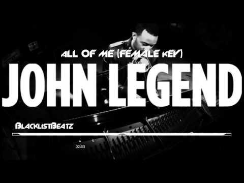 1d All of Me Female Key   Karaoke Version John Legend   YouTubevia torchbrowser com