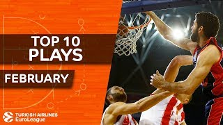 Turkish Airlines EuroLeague, Top 10 Plays, February