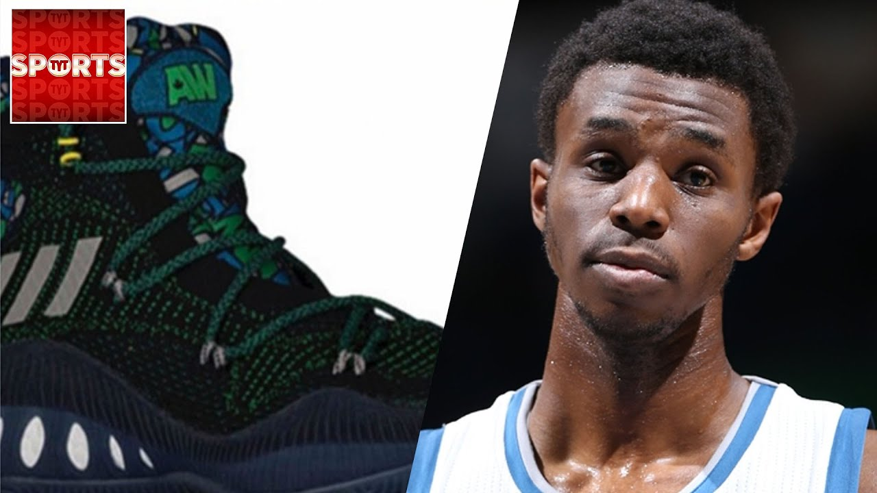 5ad7dba21ea Andrew Wiggins New Shoes WORSE Than Steph Curry Lows   Internet Reacts!