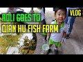 Adli Goes to Qian Hu Fish Farm   Singapore Family Vlog
