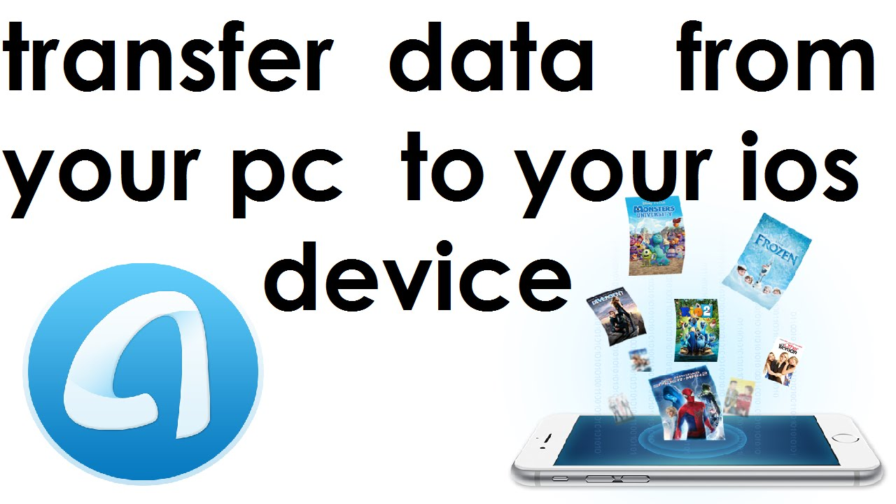 transfer data from ipad to pc without itunes