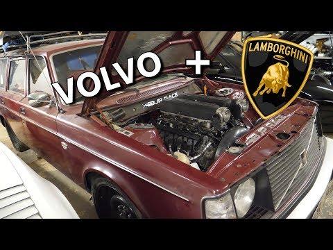 Volvo with Lamborghini engine project!