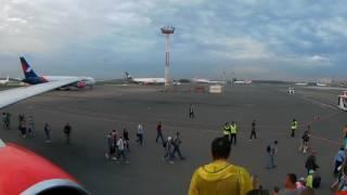Доминикана. Улетаем домой. Атлантичиский океан с самолета Azur Air(, 2017-06-28T11:41:21.000Z)