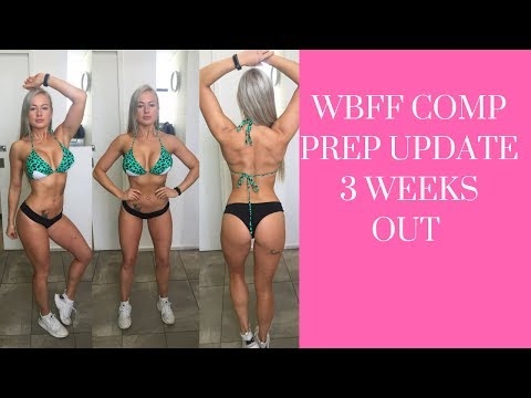 Repeat Insight into WBFF posing || Shoulders are Burning | 9 DAYS by