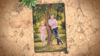 Музыкальный фильм из семейных летних фотографий с фотосессии