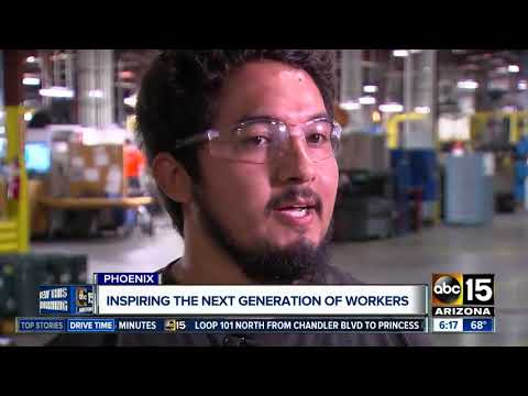 Valley business hoping to inspire young people to work in manufacturing