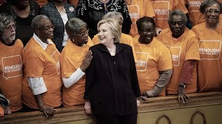 Hillary Clinton jokes that all black people look alike